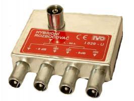 rozbočovač hybridní 4x  I029 - úhlový