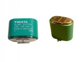 Baterie nabíjecí 3,6V 140mAh