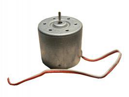 Motorek MGF 6V pravotočivý s drátky
