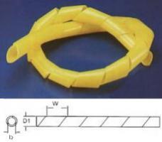 Bužírka spirálová 10- 70 mm