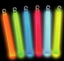 Svítící tyčinka 15cm - modrá (chemické světlo)