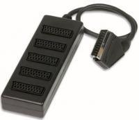 Redukce SCART / 5xSCART - krabička