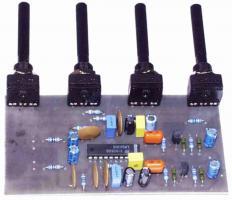 Korekční zesilovač stereo s LM1036 - stavebnice