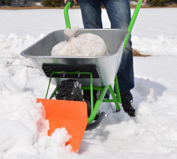 Bravo pluh na sníh oboustranný k Motúčku