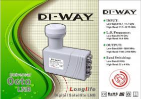DI-WAY 0.1dB Octo konvertor