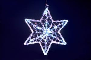 Svítící hvězda s LED