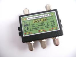rozbočovač DVB-T 4x aktivní 5dB