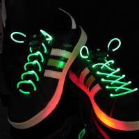 BasicXL BXL-SL13 svítící LED tkaničky - zelené