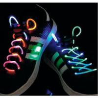 BasicXL BXL-SL14 svítící LED tkaničky - zelené/modré