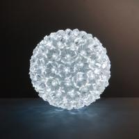 LED koule Ledové květy