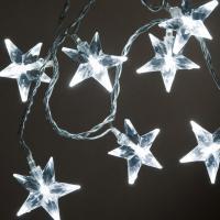 Řetěz hvězdičky LED