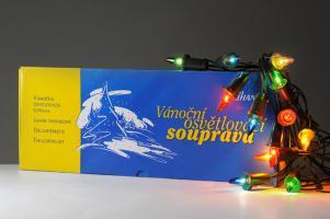 Vánoční souprava KRYSTALIA - barevná