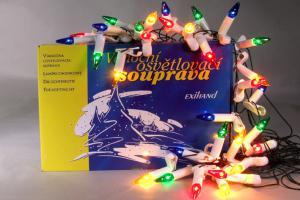 Vánoční souprava LUNARIA - barevná
