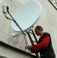 Montáž satelitu na 1 TV