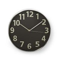 NEDIS CLWA014PC30BK nástěnné hodiny