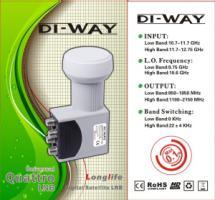 DI-WAY 0,1dB Quattro konvertor