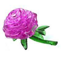 3D crystal puzzle - růže