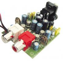 Předzesilovač pro gramofon s magnetodynamickou přenoskou - stavebnice
