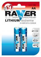 RAVER FR6 lithiová tužková baterie