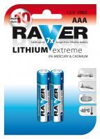 RAVER FR03 lithiová mikrotužková baterie