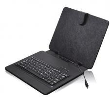 """Pouzdro na tablet 10"""" s klávesnicí s micro USB"""