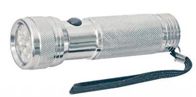 Svítilna LED (12x) stříbrná (3xAAA)