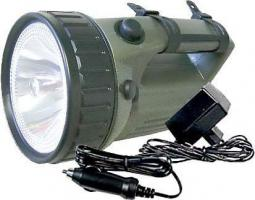 Nabíjecí svítilna halogenová, akumulátor 6V/4Ah