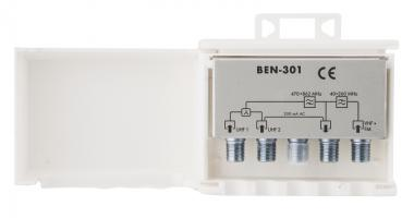 slučovač venkovní anténní BEN 301