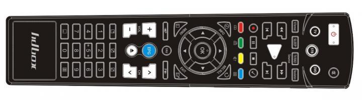 Dálkový ovladač HD-BOX 9200,9300,9105+,7119