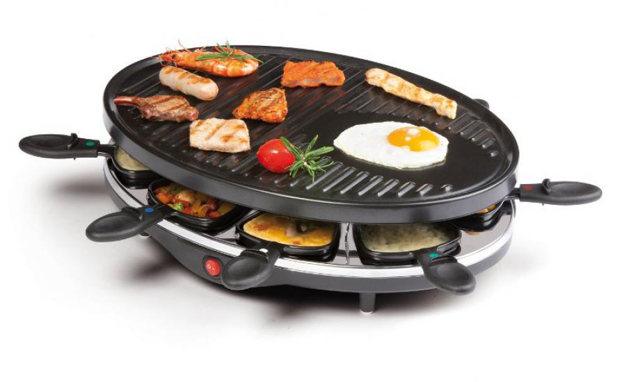 DOMO DO9038G Raclette gril pro 8 osob