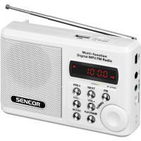SENCOR SRD 215 W USB/MP3 radiopřijímač