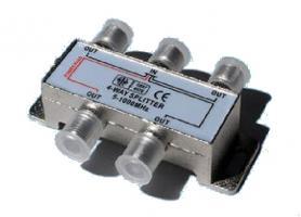 Rozbočovač 4 x F konektor