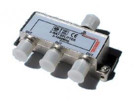 Rozbočovač 3 x F konektor