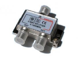 Rozbočovač 2 x F konektor
