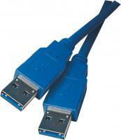 USB kabel 3.0 A vidlice - A vidlice 2m