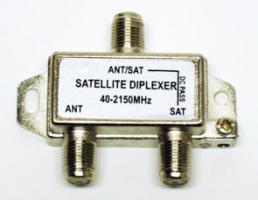 SAT + TV slučovač Diplexer