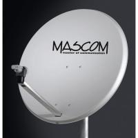 MASCOM OP-85Fe satelitní parabola - bílá