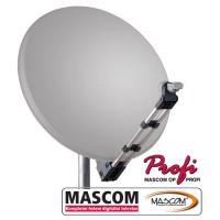 MASCOM PROFI85AL satelitní parabola - bílá