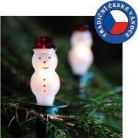 Vánoční souprava SNĚHULÁK - bílá