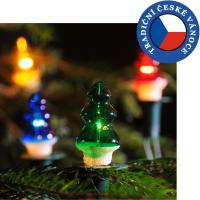 Vánoční souprava STROMEK - barevná
