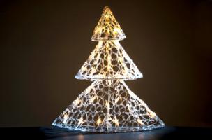 Svíticí stromeček na zavěšení