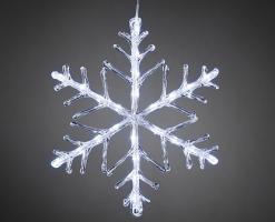 Sněhová vločka s 24 LED