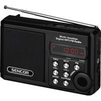 SENCOR SRD 215 B USB/MP3 radiopřijímač