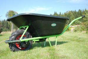 Motúčko KLASIK - pneu 10cm, plastová korba 120l
