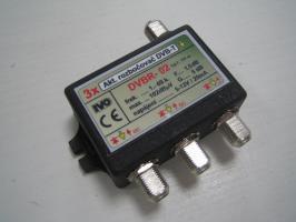rozbočovač DVB-T 3x aktivní 5db