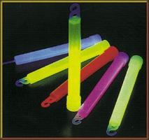 Svítící tyčinka 15cm - žlutá (chemické světlo)