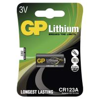 Baterie GP CR123A lithiová foto