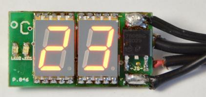 Miniaturní digitální SMD teploměr - stavebnice