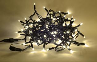 PROFI LED jiskřící řetěz - teplá bílá