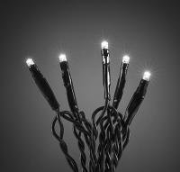 Vánoční řetěz jiskřící LED-80 studená bílá